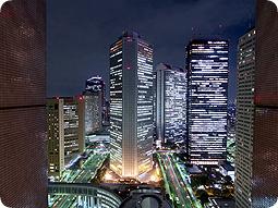 新宿NSビルからの眺め